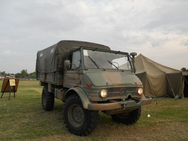 Unimog 426 argentine military vehicle
