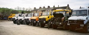 Unimog Parts and vehicles for sale