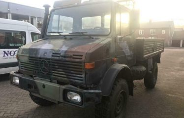 Mercedes benz unimog 1300 camper expeditie openbak