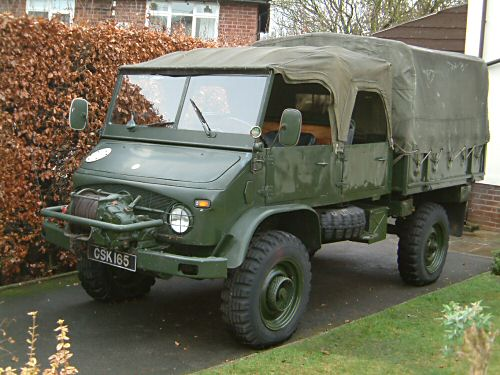 1958 Unimog 404 Doka, For sale, Ireland